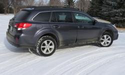 Make Subaru Colour Grey Trans Automatic kms 116000 No accidents No rust No dents, dings or glass chips-cracks Power -- Windows, doors trunk,seats and sunroof Heated seats Navigation Sirius radio capab;e Back up camera Operating Bluetooth Radio. cruise and