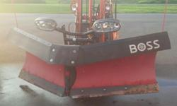 "2014 BOSS V-BLADE 9'2"" POLY VXT plow, complete plow wiring harness,controller, and mounting for a 2015 gmc.Everything is like new 4500.00 ph or txt 705-257-1280"
