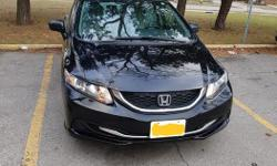 Make Honda Model Civic Sedan Year 2014 Colour Black kms 32500 Trans Manual 2014 Honda Civic DX - This model does not come with Air conditioning, it has heat. Car is in very good shape with low mileage only 32, 500 - Car is also Manual.