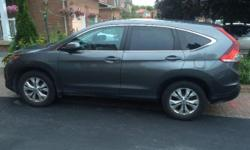 Make Honda Model CR-V Year 2014 Colour GREY kms 34000 For sale by owner is a 2014 Honda CRV in excellent condition with extremely low kms! This vehicle looks like it just came off the lot. It is fully loaded and has all the luxury options and features