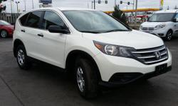 Make Honda Model CR-V Year 2014 Colour White kms 43185 Trans Automatic Bodystyle: 4 door SUV Engine: 2.4L I-4 cyl Transmission: 5 speed automatic Ext. Colour: White Int. Colour: Black Kilometres: 43,185 Stock Number: P4109 Model Code: RM3H3EES BALANCE OF