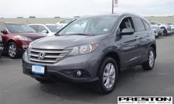 Make Honda Model CR-V Year 2014 Colour Grey kms 47409 Trans Automatic Price: $28,995 Stock Number: X18721 Interior Colour: Black Cylinders: 4 - Cyl Top line mid size vehicle. All power options, Factory aluminum wheels. Heated front seats with power