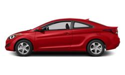 Make Hyundai Model Elantra Year 2014 Colour Red kms 11563 Trans Automatic Price: $19,999 Stock Number: 17-70AA Interior Colour: Black Engine: 2.0L I4 16V GDI DOHC Fuel: Gasoline Low Mileage! New Arrival! This 2014 Hyundai Elantra is fresh on our lot in