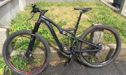 I bought this amazing bike new at the end of 2014 and have ridden it since then. Why am I selling it. Well I got a Downhill bike and new Carbon trail bike. So this really just sits in the back room now. Rockshox Revelation(maintained every year and over