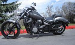 Make Yamaha 2014 Yamaha XVS 1300 Stryker water cooled, belt drive, factory pipe, Kuryakin passenger pegs, all original original tires MINT CONDITION ONLY 3,261 km $10,250 plus 5% GST and delivery/shipping if necessary This bike is in Calgary Delivery to
