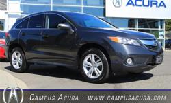 Make Acura Model RDX Year 2015 Colour Graphite Luster Metallic kms 28648 Trans Automatic Price: $37,900 Stock Number: AC0556 Interior Colour: Ebony Cylinders: 6 *CAMPUS PURCHASED* *TECHNOLOGY PACKAGE* *LOCALLY DRIVEN* *ZERO ACCIDENTS*Make this a summer to