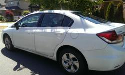 Make Honda Colour White Trans Automatic kms 8700 Beautiful Honda Civic for sale. Unfortunately due to a lifestyle change it is forcing me to sell before December as I am leaving the country. This is a fantastic car that has done me great wonders. Need