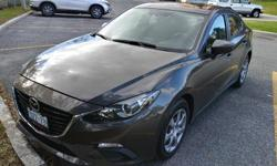 Make Mazda Model Mazda3 Year 2015 Colour Brown kms 33000 Trans Automatic 2015 Mazda 3 Skyactiv GS Automatic Transmission with very low mileage in very good condition, only 31000km, great fuel echonomy, 6.2L Highway and 8.4L City, 28 and 37 MPG. Has