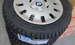 205/55R16 Brand NEW Hankook iPike Winter Tires on used BMW steel Rims This is for a set of Four, HUBCAPS NOT INCLUDED ***Includes installed/balance and taxes!!*** Just 1 set left. 230 Don Park Rd. Unit 13 Markham, Ontario, L3R 2P7 647-996-8473 OPEN: