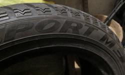 205/55/16 Used Dunlop Winter Sport M3 Tire Just 1 tire. Find another and make a pair. Tread good for a couple more winters. Pickup in Markham.