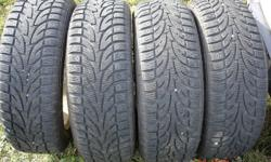 205/55R16 Winter Claw Extreme Grip on Oldsmobile Alero Alloy Wheels   Tires and rims are both in very good condition. $600 519-270-4044