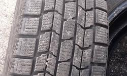 Three Dunlop Graspic Winters for Sale.  205/60/16  Only have three because that was all I bought at the time.   Great tread left!  Asking $300 OBO.  Email if interested.  Serious buyers only.