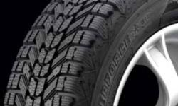 for sale is a set of 205/60R16 2 of them are firestone winterforce and 2 of them are  Barum polaris 2 ice and snow tires they were on my car for less than one season and then sold the vehicle they were on 98% tread left on them great tires my loss your
