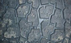 selling a coplete set of 4 winter tires , size is 205/75/14 all in extra good condition , almost new 90% ,, sell all for 160.