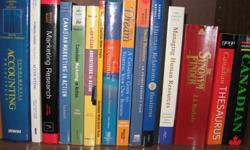 Management and Business program books picture attached.