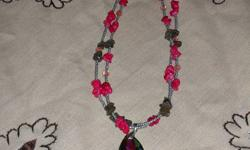 Located in the heart of Westfort in my own home, I create H-C Creations Jewelry.  I use stone, glass, wood, metal and hemp to create original and affordable necklaces, bracelets, and earrings.  I take special orders, repair broken beaded jewelry for a