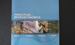 Principles of Microecnomics-------Textbook is like new condition!------Selling for $20
