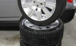 "Tires: Pirelli Scorpion Ice & Snow - 275/40/R20 106V M+S Tread: 11/32"" (ABOUT %90) 5 BOLT REPLICA RIMS 20*9.5 ET50"