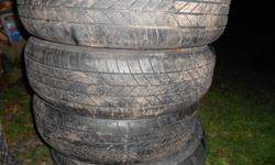 4 all season tires that have some running left