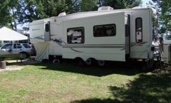 Montana 5th Wheel, comes with Arctic Insulation Pkge, Full basement, A/C, two slides, Immaculate condition. Many extras with this unit. Ready to sell on a beautiful site on Whitefish Lake, turn key camping!