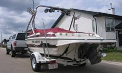 4.3 LITER V6 FUEL INJECTED, JUST PUT ON SWIM PLATFORM LAST YEAR, COMES WITH ROPE, TUBE, KNEE BOARD, ANCHOR.....