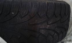 I am selling a set of 4 full snow tires. 225/45/17