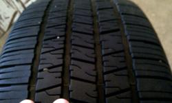 2 tires off 2008 g6 will pass lease return requirements.  half tire  life left.