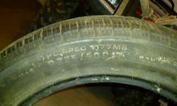 Brand new Continental Conticontact 225/50R17