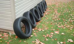 I HAVE 7 P225/70R17 HANKOOK OPTIMO 93S, H725A TIRES  FOR SALE. TIRES ARE IN GOOD CONDITION WITH NO HOLES OR PLUGS, TRADED VEHICLE, ALL GO AS PKG, THEY ARE OVER 230.00 EACH NEW
