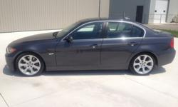 2007 BMW 335i Sedan--Great Condition, Low Mileage, One Owner!Specs/Features (Fully Loaded Premium Package)-80,200 KMS-3.0L 6cyl, Twin Turbo, 300hp, Gasoline.-Granite Exterior-Black Interior-Leather electric/heated seats-6 Speed Automatic