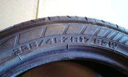 75% tread life no plugs or camber wear       $160 OBO foe the pair       CHRIS 905-407-4222