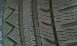 For sale are 4 235/45/17 Michelin PA3 tires with winter rims and with tire pressure sensors for Acura vehicles. They have around 65% tread left. Can sell without the tire pressure sensors also. Any questions just send me an email. Thanks.
