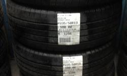 Set of x4 235/50/19 Michelin Primacy MXV4 Allseasons Tires in Excellent condition. 4 weeks warranty if installed with us! MR. TIRES OTTAWA 3210 Swansea Crescent Ottawa, Ontario, K1G 3W4 (Closest Interscetion: Hawthorne Rd. & Stevenage Rd.) T: (613)
