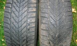 2 -  Goodyear Ultra Grip Ice tires. 6/32 tread.