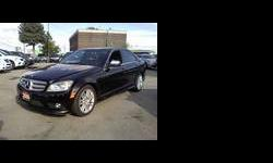 BRAND NEW INVENTORY! JUST CAME IN! AMAZING CAR! 2009 Mercedes C300 4Matic. Black On Black Leather seats. Front Dual AIR CONDITIONED. Alloy rims. ANTI-LOCK BRAKING SYSTEM Brakes. Cruise Control. Panoramic Sunroof! Lighted Entry. Telescopic Steering Wheel.