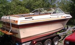 Must go, havent used in 3 years, stored on stand in my yard and we are selling our house so has to go asap. Make an offer you never know what I might take, also willing to trade for anything interesting, try me. Boat is in fair condition, motor worked