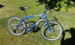 "This bike has 24"" tires and is great for most kids agees9 to and bout 14. The bike is in good condition and ready to ride. :)"
