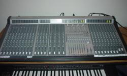 """This Phonic MR4283 D (digital outs) Audio Mixing Board has 24 channels + 4 stereo in. Each channel has an LED Meter with a 1/4"""" Digital Out. 8 Aug sends and 8 subgroups. Very Cool to use. It also has a roadcase (probably worth a few hundred), so it's a"""