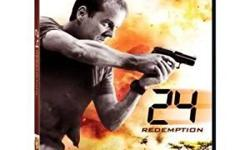 24 Redemption DVD 3 disc comes with Best Buy bonus disc