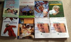 First Year ECE Georgian Collage Text Book..Extra book in Bundle. $250 for the first 7 and $ 50 for the extra