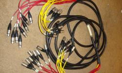 25 feet xlr cable good shape . trade/best offer