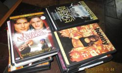 25 assorted DVD movies,mostly PG rating, In original cases. Includes: Pride & Prejudice The King's Speech Twilight Juno Elf Step Up Sold as bundle, will not divide. Price is firm Will meet anywhere in west end (Kanata, Bells Corners, Barrhaven)