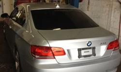 2007 bmw 335i coupe v6 3.0 twin turbo 300hp 300tq/automatic 6 speed dual clutch/idrive navigation/titanium silver with space grey interior/78k on the car/private sale and asking 27000 for more info on the car please call or text 647 456 3958 also has