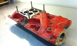 Original small block ford 289 intake manifold, cast iron, 4 barrel This ad was posted with the Kijiji Classifieds app.