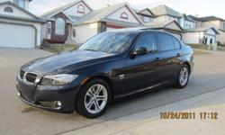2009 BMW 328i XDrive, 3.0L I6, with 6 Speed Triptronic Transmission, AWD. Two sets of tires, Blizzaks have one Winter on them. Auto Dual Climate Control, Heated Chairs, Heated Steering Wheel, iPod Connector, Bi-Xenon Headlights. Full Tint Pkg, Full 3M