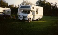 1982 Aristocrat Camper Van sleeps 6 needs minor work