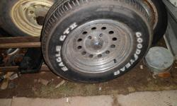 "Don't know much about them.... been told they are Cragar's but can't be for sure.   15""   Tires Are 255/60R15   $70 OBO"