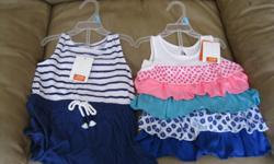2 BRAND NEW Girls summer outfits Size 6-12 months Brand - JOE Very cute!! Great gift idea!!!! $10 each OR get BOTH for ONLY $15 (works out to be $7.50 per outfit!!!!!) Can meet in west end of ottawa (kanata) or pickup in Constance Bay