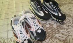 2 BRAND NEW pairs of Boys Running Shoes Size 11 Never worn Will sell for $10 individually ($20) OR get BOTH pairs for ONLY $15 (works out to be $7.50 per pair) Can meet in west end of ottawa (kanata) or pickup in Constance Bay