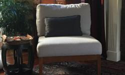 Very comfortable chairs that fit into any decor! Can be sold individually..